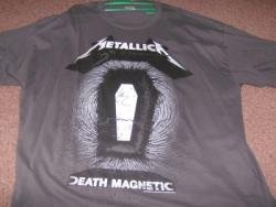 DEATH MAG SIGNED TEE SHIRT