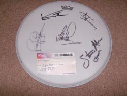 DEEP PURPLE SIGNED DRUMSKIN