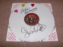 DEEPER WHITE 12INCH AUTOGRAPHED