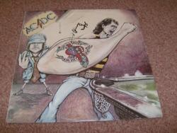 DIRTY DEEDS AUSSIE LP SIGNED BY ANGUS