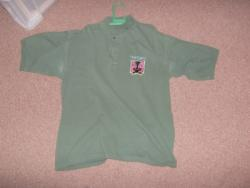 DIVISION BELL GREEN POLO SHIRT