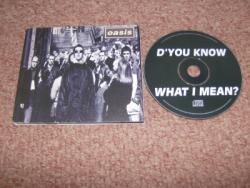 DYOU KNOW CD SINGLE UK PS