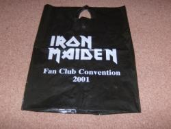 FAN CLUB CARRIER BAG 2001