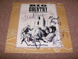 FIELDS OF FIRE 12PS FULLY SIGNED