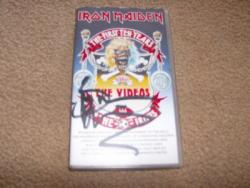FIRST VHS SIGNED