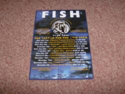 FISH 2008 FLYER SIGNED