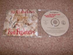 FOR ALL THE COWS UK CD SINGLE