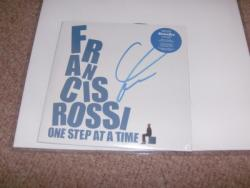 FRANCIS ROSSI SIGNED 10PS
