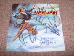 FREAKS GER 7PS FULLY SIGNED
