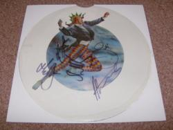 FREAKS UNCUT PIC DISC FULLY SIGNED