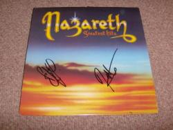 G HITS RE ISSUE LP SIGNED