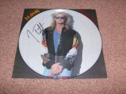HEAVEN IS JOE PIC DISC SIGNED BY JOE