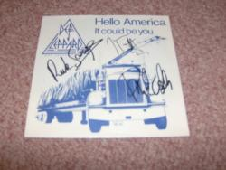 HELLO AMERICA DUTCH 7PS SIGNEDX3