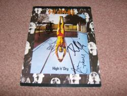 HIGH N DRY UK TOUR PROG SIGNEDX4