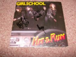 HIT AND RUN 7PS SIGNEDX3