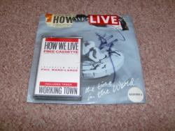 HOW WE LIVE WORLD 7PS INC CASS SEALED SIGNED