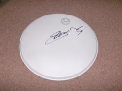 IAN MOSELEY SIGNED DRUMSKIN