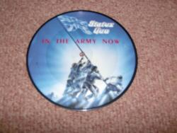 IN THE ARMY NOW 7INCH PIC DISC