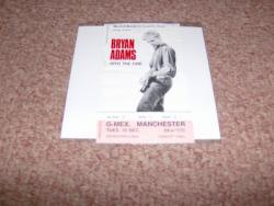 INTO FIRE MANCHESTER STUB