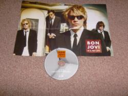 ITS MY LIFE CD PLUS POSTER