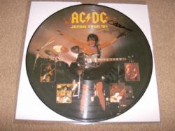 JAPAN 81 SIGNED PIC DISC