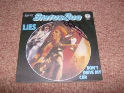 LIES 7INCH GERMAN SIGNED PS