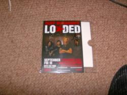 LOADED SIGNED FLYER X3