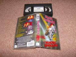 MAIDEN ENGLAND VHS VIDEO