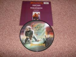 MARY PIC DISC SIGNED X1