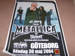 METALLICA AND SLIPKNOT POSTER
