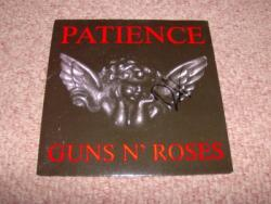 PATIENCE 7INCH PS AUTOGRAPHED