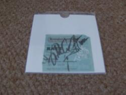 RATT SIGNED TICKET STUB
