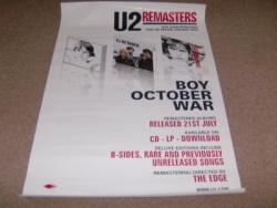 REMASTERS PROMO POSTER