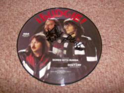 RUSSIA 7INCH PDISC SIGNED