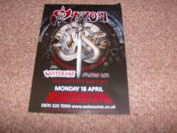SAXON WOLVES FLYER APRIL 2011