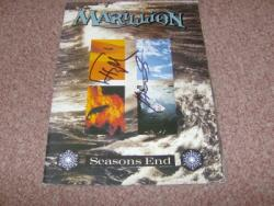 SEASONS END POSTERPROG SIGNEDX2
