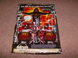 SHAWN DROVER SIGNED POSTER