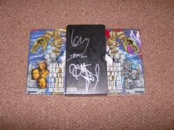 SIGNED US VHS BOX SET