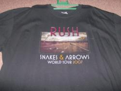 SNAKES ARROWS TOUR TSHIRT