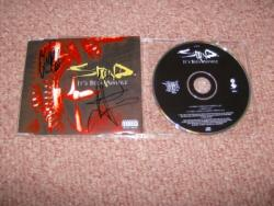 STAIND AWHILE CD SINGLE SIGNED