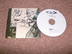 STAIND BELIEVE CD PROMO SIGNED