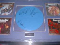 STATUS QUO MAKERS SIGNED FRAME
