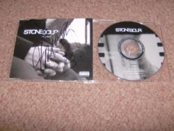 STONE SOUR SIGNED CD