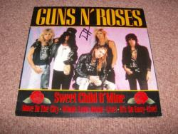 SWEET CHILD GER 12PS AUTOGRAPHED