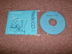 TERRORVISION MY HOUSE CD PROMO SIGNED