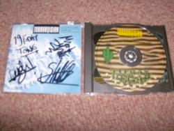 TERRORVISION OBLIVION CD SET FULLY AUTOGRAPHED
