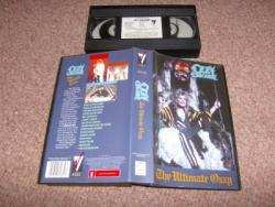 ULTIMATE OZZY VHS VIDEO