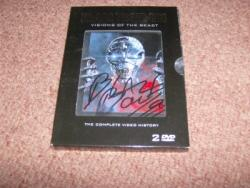 VISIONS DVD SIGNED BY BLAZE