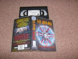 VISUALIZE VHS VIDEO SIGNED BY JOE