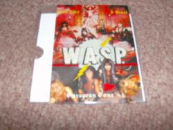 WASP POSTCARD 1984 USED
